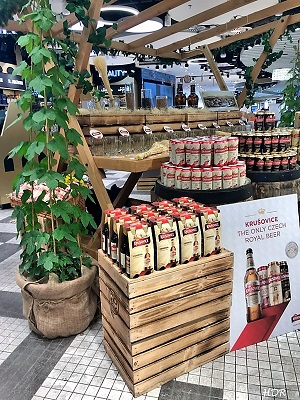 Saaz Hops on the Vaclav Havel Airport Prague